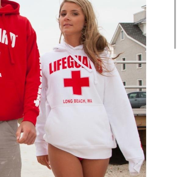1c208ba631acd4 Forever 21 Tops - Lifeguard Sweatshirt
